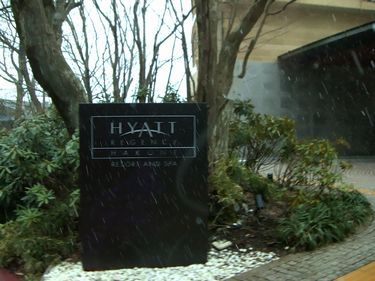 hyatt hakone entrance